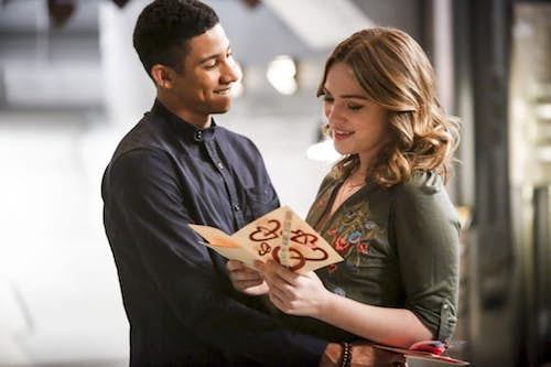 Keiynan Lonsdale Violett Beane Attack on Central City The Flash