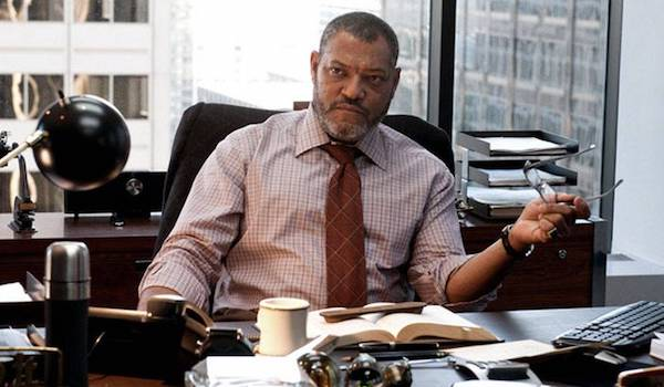 Laurence Fishburne Batman v Superman