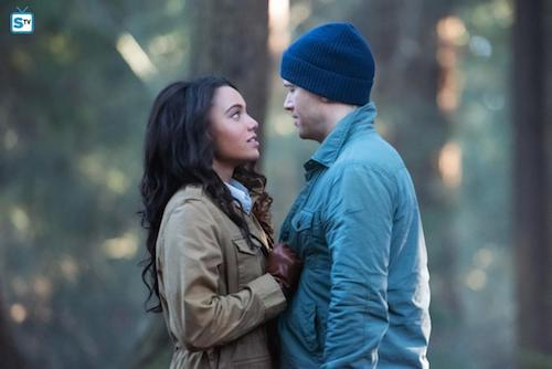 Maisie Richardson-Sellers Nick Zano Land of the Lost Legends of Tomorrow