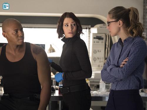 Mehcad Brooks Chyler Leigh Melissa Benoist Luthors Supergirl