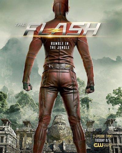 The Flash Gorilla City Poster