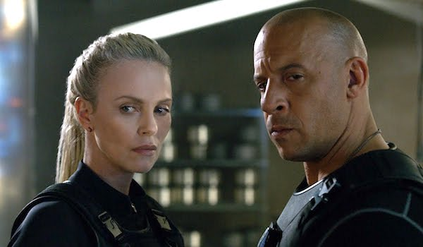 Vin Diesel Charlize Theron The Fate of the Furious