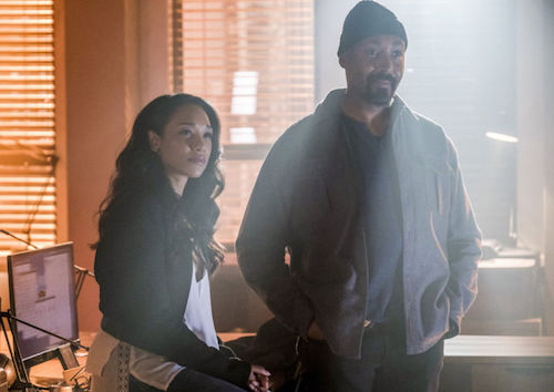 Candice Patton Jesse L. Martin Into the Speed Force The Flash