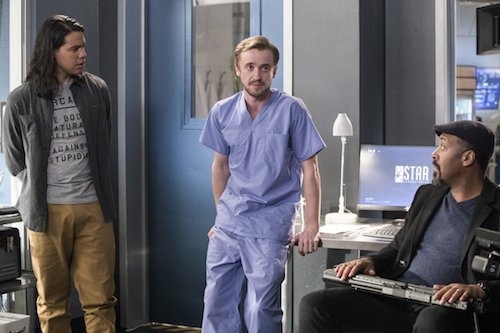 Carlos Valdés Tom Felton Jesse L. Martin Abra Kadabra The Flash