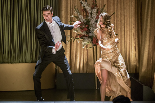 Grant Gustin Melissa Benoist Duet Supergirl The Flash