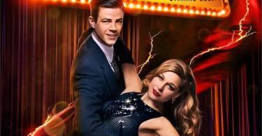 Grant Gustin Melissa Benoist Supergirl The Flash Musical Crossover Poster