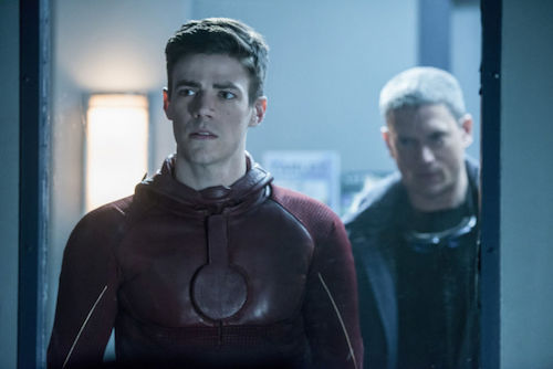 Grant Gustin Wentworth Miller Into the Speed Force The Flash