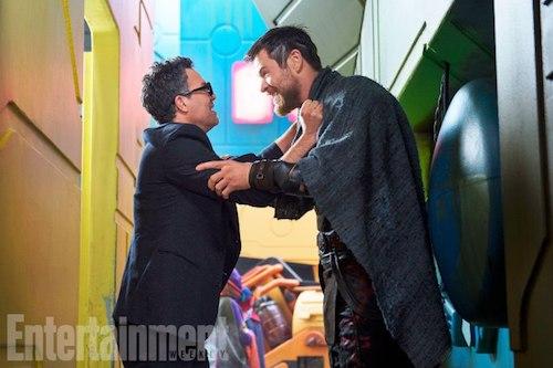 Mark Ruffalo Chris Hemsworth Thor: Ragnarok