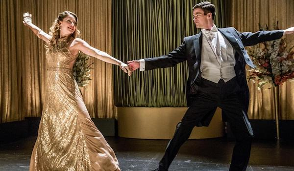 Melissa Benoist Grant Gustin Duet Supergirl The Flash