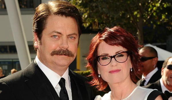 Nick Offerman Megan Mullally