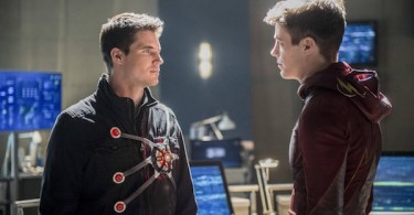 Robbie Amell Grant Gustin Into the Speed Force The Flash
