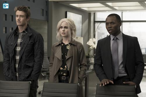 Robert Buckley Rose McIver Malcolm Goodwin Heaven Just Got a Little Bit Smoother iZombie