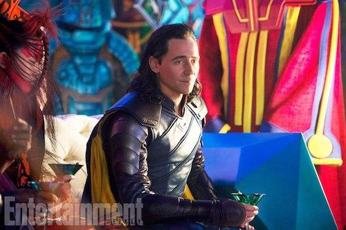 Tom Hiddleston Thor: Ragnarok