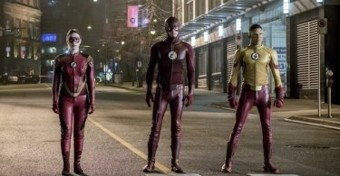 VIolett Beane Grant Gustin Keiynan Lonsdale Attack on Central City The Flash