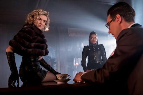 Erin Richards Jessica Lucas Cory Michael Smith How The Riddler Got HIs Name Gotham