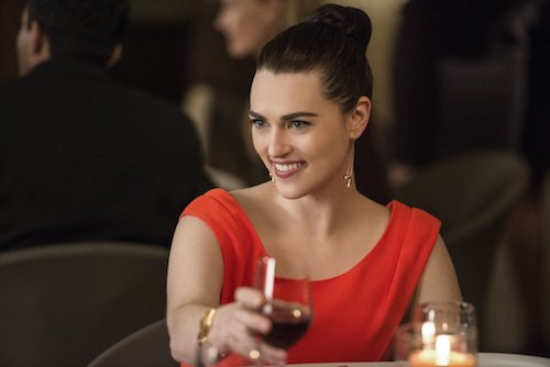 Katie McGrath Ace Reporter Supergirl