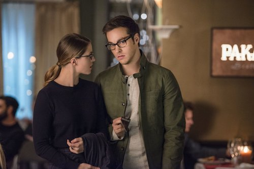 Melissa Benoist Chris Wood Ace Reporter Supergirl