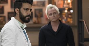 Rahul Kohli David Anders Eat, Pray, Liv iZombie