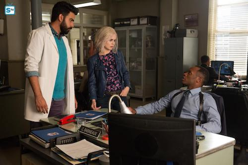 Rahul Kohli Rose McIver Malcolm Goodwin Zombie Knows Best iZombie