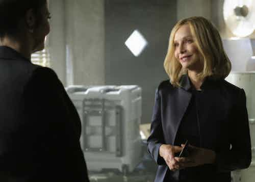 Brenda Strong Calista Flockhart Resist Supergirl