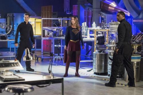 Chris Wood Melissa Benoist David Harewood Lost City of Children Supergirl