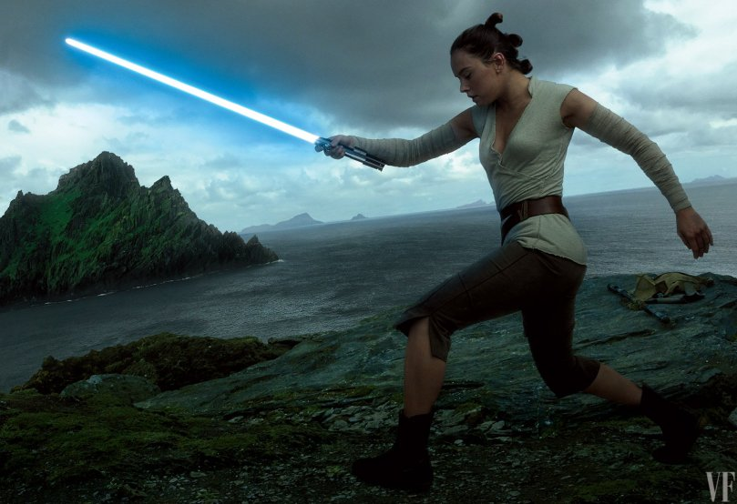 Daisy Ridley Star Wars: The Last Jedi Vanity Fair