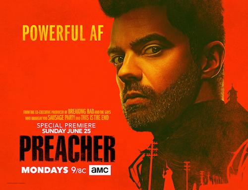 Dominic Cooper Preacher Season Two Banner