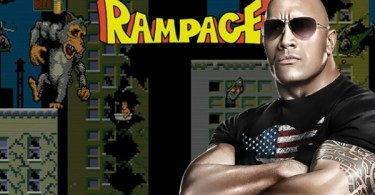 Dwayne Johnson Rampage Video Game