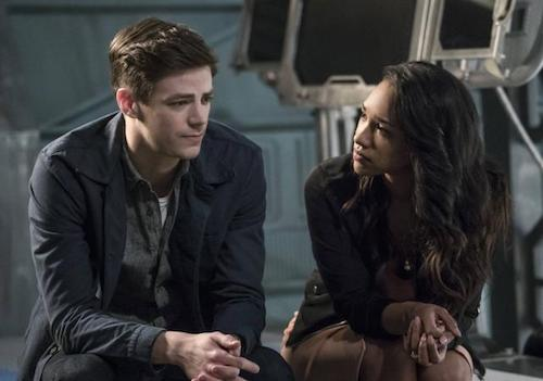 Grant Gustin Candice Patton Cause and Effect The Flash