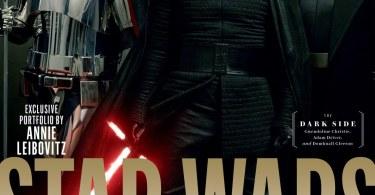 Gwendoline Christie Adam Driver Domhnall Gleeson Star Wars: The Last Jedi Vanity Fair Cover
