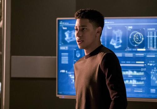 Keiynan Lonsdale Cause and Effect The Flash