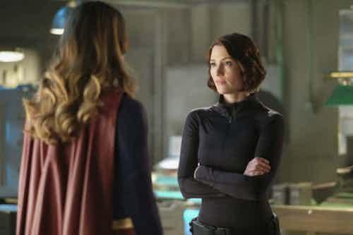 Melissa Benoist Chyler Leigh Resist Supergirl