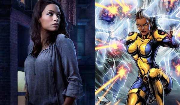 Rosario Dawson Cecilia Reyes New Mutants