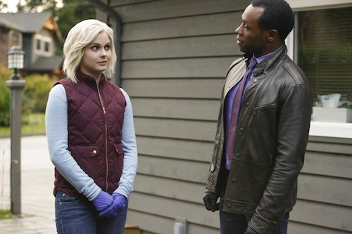 Rose McIver Malcolm Goodwin Eat the Knievel iZombie