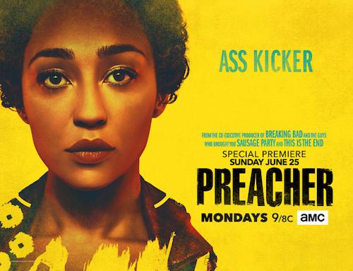 Ruth Negga Preacher Season Two Banner