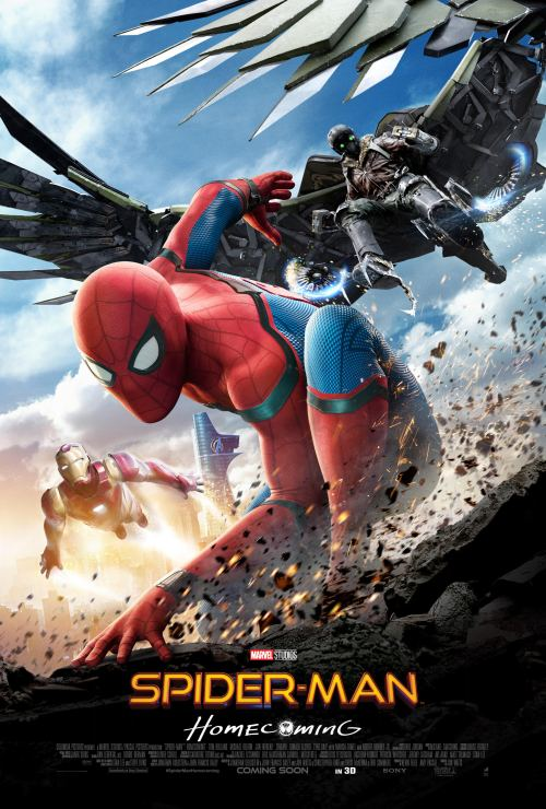 Spider-Man: Homecoming Vulture Movie Poster