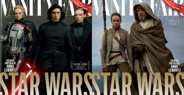 Star Wars The Last Jedi Vanity Fair Covers