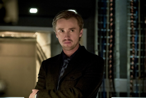 Tom Felton Finish Line The Flash