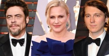 Benicio del Toro, Patricia Arquette, Paul Dano