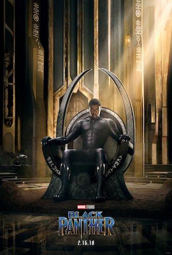 Chadwick Boseman Black Panther Poster