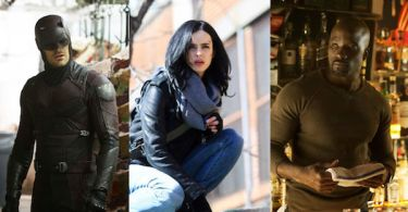 Daredevil Jessica Jones Luke Cage