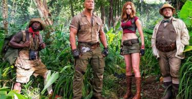Dwayne Johnson Jack Black Kevin Hart Karen Gillan Jumanji Welcome to the Jungle