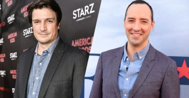 Nathan Fillion Tony Hale