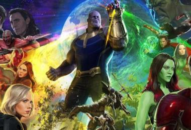 Avengers: Infinity War San Diego Comic-Con International Movie Poster