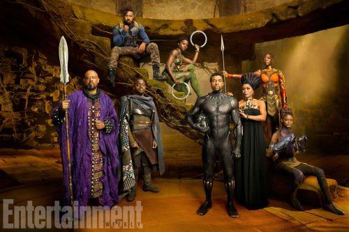Forest Whitaker Daniel Kaluuya Michael B. Jordan Lupita Nyong'o Chadwick Boseman Angela Bassett Letitia Wright Danai Gurira Black Panther