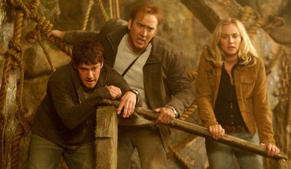 Justin Bartha Nicolas Cage Diane Kruger National Treasure