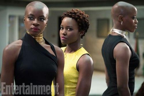 Lupita Nyong'o Danai Gurira Black Panther