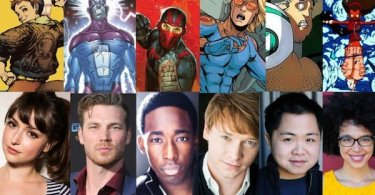 New Warriors Marvel Freeform Cast Characters