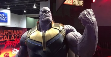 Thanos Statue Disney D23 Expo