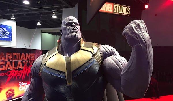 Thanos Statue Disney D23 Expo